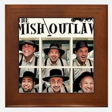 Amish Outlaws Kid Shirt Framed Tile