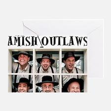 Amish Outlaws Kid Shirt Greeting Card