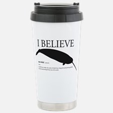 narwhal Stainless Steel Travel Mug