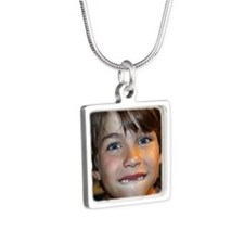 2012_Brock Silver Square Necklace