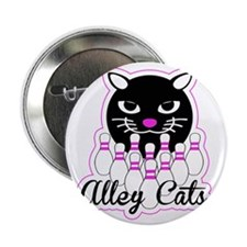 "Alley Cat Bowling 2.25"" Button"