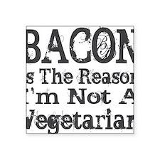 """Bacon 2 Square Sticker 3"""" x 3"""""""