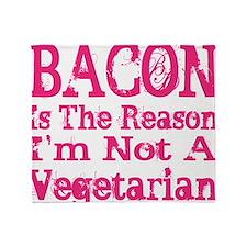 Bacon 4 Throw Blanket