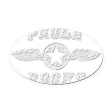 PAOLA ROCKS Oval Car Magnet