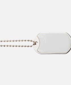White Dog Tags
