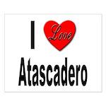 I Love Atascadero Small Poster