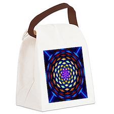 rainbow weave Canvas Lunch Bag
