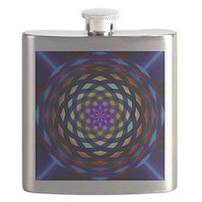 rainbow weave Flask