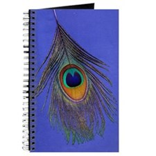 Peacock Feather Journal