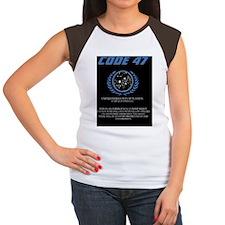 code 47 Women's Cap Sleeve T-Shirt