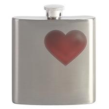 I Heart United Kingdom Flask