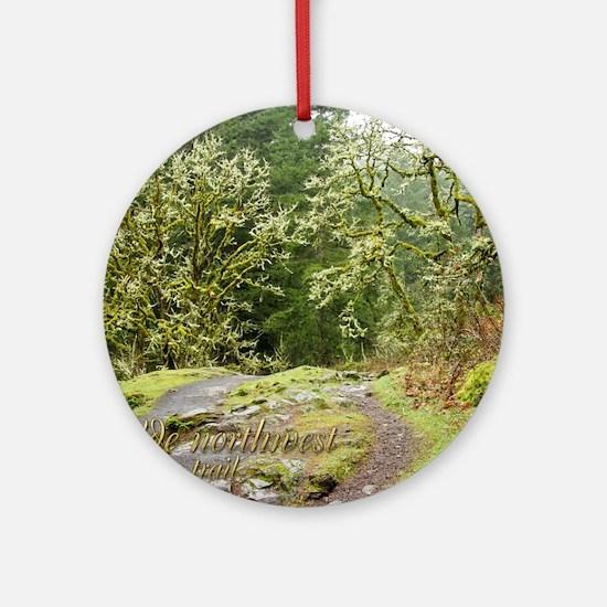 00cover-WNWtrails Round Ornament