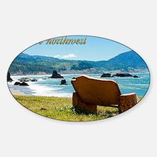 00cover-wildeNW Sticker (Oval)