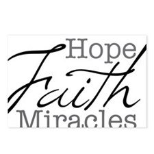 Mood Booster Hope, Faith, Postcards (Package of 8)