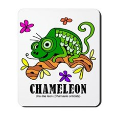 Cartoon Chameleon by Lorenzo Mousepad