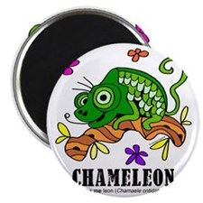 Cartoon Chameleon by Lorenzo Magnet