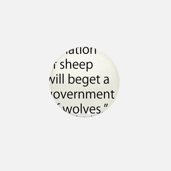 Nation of Sheep Mini Button