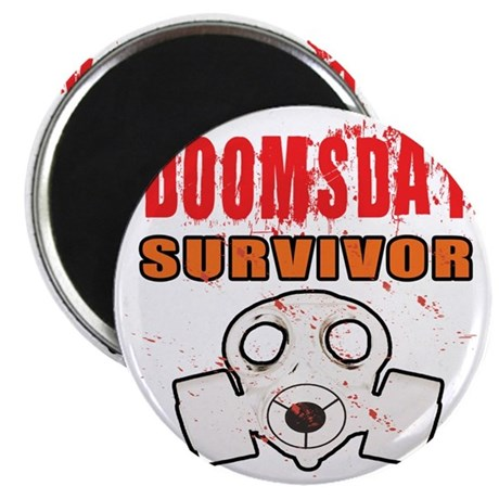DOOMSDAY SURVIVOR Magnet