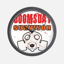 DOOMSDAY SURVIVOR Wall Clock