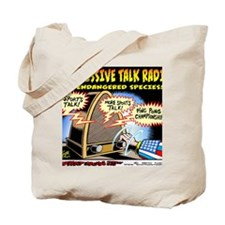 Progressive Talk Radio, an Endangered Spe Tote Bag