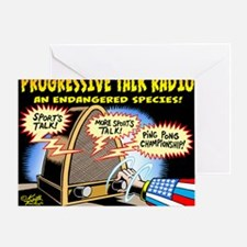 Progressive Talk Radio, an Endangere Greeting Card