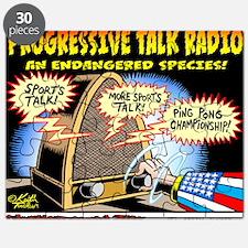 Progressive Talk Radio, an Endangered Speci Puzzle