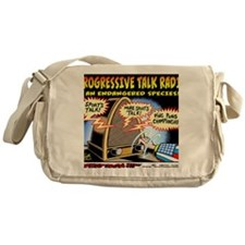 Progressive Talk Radio, an Endangere Messenger Bag