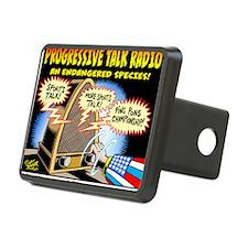 Progressive Talk Radio, an Hitch Cover