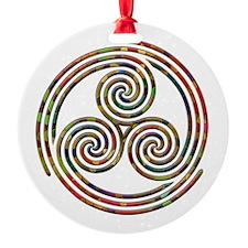 Triple Spiral - 12 Ornament