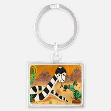 Year of the snake Landscape Keychain