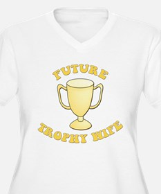 Yellow Future Trophy Wife T-Shirt