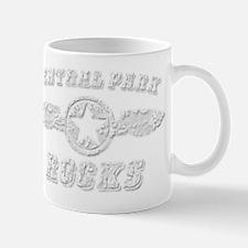 CENTRAL PARK ROCKS Mug