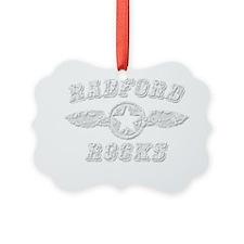 RADFORD ROCKS Ornament