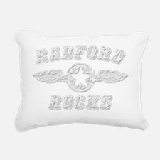 RADFORD ROCKS Rectangular Canvas Pillow