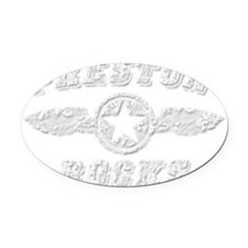 PRESTON ROCKS Oval Car Magnet