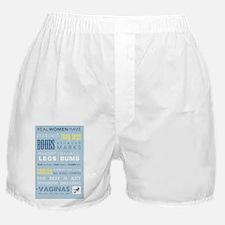 Real Women Have Vaginas 2 Boxer Shorts