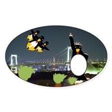 New York Penguins Decal