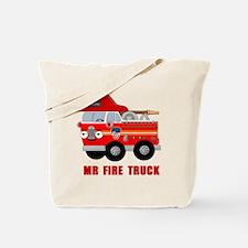 Mr Fire Truck Tote Bag