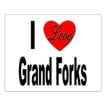 I Love Grand Forks Small Poster