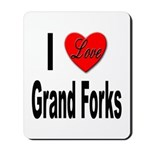 I Love Grand Forks Mousepad