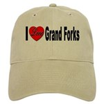 I Love Grand Forks Cap