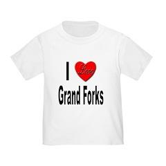 I Love Grand Forks (Front) T