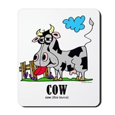 Cartoon Cow by Lorenzo Mousepad