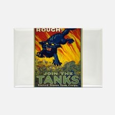 Treat Em Rough Join The US Tank Corps - August Wil