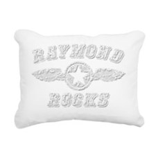 RAYMOND ROCKS Rectangular Canvas Pillow