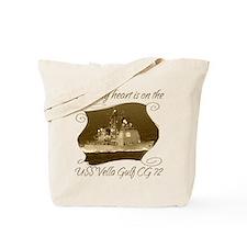 Uss georgia Tote Bag