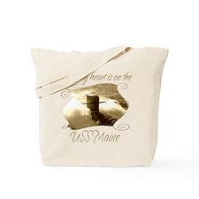 Cute Uss georgia Tote Bag
