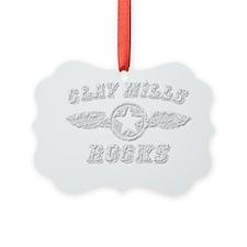 CLAY MILLS ROCKS Ornament