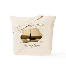 Unique Uss georgia Tote Bag