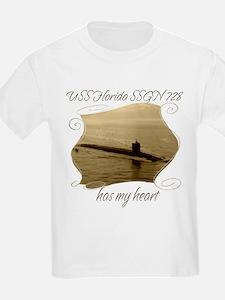 USS Florida SSGN 728 T-Shirt